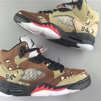 Air Jordan 5 camo Basketball Shoes 36-40