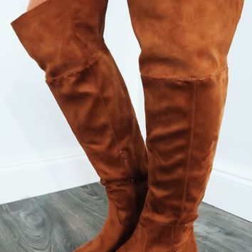 High Rider Boots: Chestnut