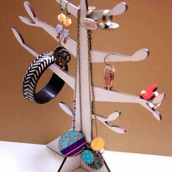 Jewelry Tree - Jewelry Organizer for Necklaces, Earrings and Bracelets