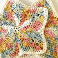 Beach Starfish Washcloths - Set of 2