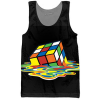 Melted Rubix Cube Tank