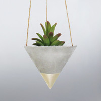 Mini Planter, Air Planter, Hanging Planter, Succulent Planter, Concrete Planter, Modern Planter, Unique Planter, Geometric Planter, Small