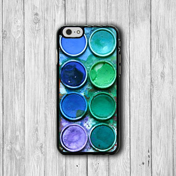 Watercolor Paint Box Art Color Set iPhone 6 Cases iPhone 6 Plus, iPhone 5/5S Case, iPhone 5C Case, iPhone 4/4S Case Printed Cell Phone Case