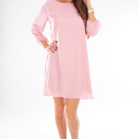 Love Me Again Dress: Light Pink