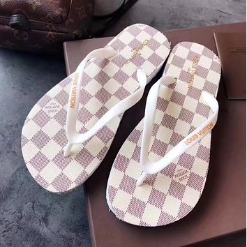 368d5ab37054 Men · Home · shosouvenir Louis Vuitton LV Flip-flop beach shoes (5 colors)