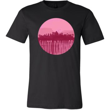 Santo Domingo Skyline Horizon Sunset Love Gift Shirt