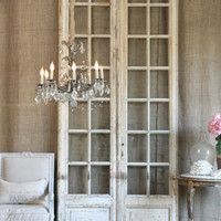 One of a Kind Antique Doors Pale Cream