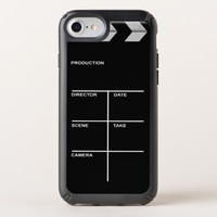 Clapboard cinema for action speck iPhone case