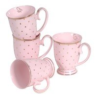 Gone Dotty Pink Mugs | Kitchen Accessories | Accessories | Sweetpea & Willow