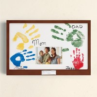 Family Handprint Frame from RedEnvelope.com