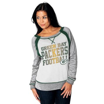 Majestic Green Bay Packers Counter IV Fleece Sweatshirt - Women's