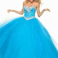 Mori Lee 93076 Prom Dress - PromDressShop.com