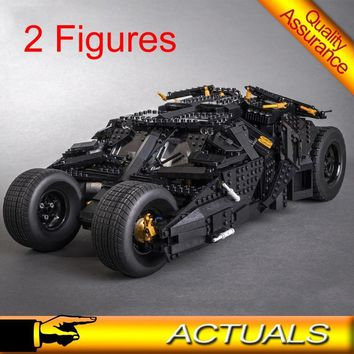 Batman Dark Knight gift Christmas Lepin 07060 Batman Car Chariot The Tumbler Building Blocks Super Heroes Assembled Bricks Compatible with Lego 76023 Decool LELE AT_71_6