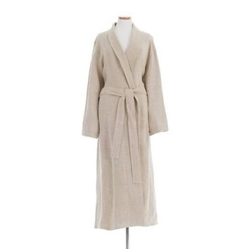 Stone Washed Linen Robes