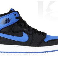 Air Jordan Men's 1 I Retro KO High Black Sport Blue