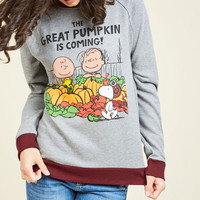 Gourd Out of My Mind Sweatshirt | Mod Retro Vintage Sweaters | ModCloth.com