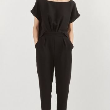 Rachel Comey Paloma Jumpsuit in Black | The Dreslyn