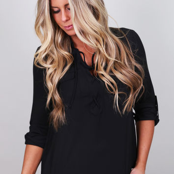 Less Is More Top {Black}