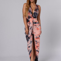 Learn To Love Dress - Coral
