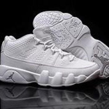DCCKL8A Nike Air Jordan 9 Retro Low White AJ9 Cheap Sale JD 9 Discount Men Sports Basketball Shoes