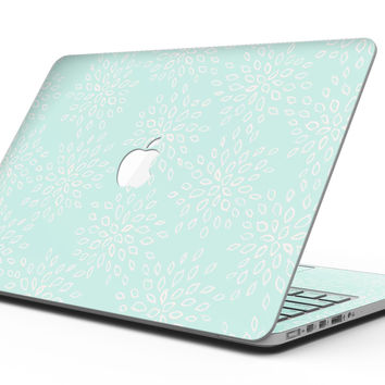 The Mint Flower Sprout - MacBook Pro with Retina Display Full-Coverage Skin Kit