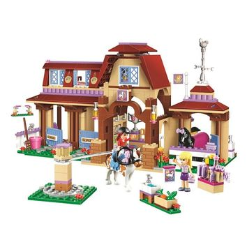 10562 Friends Series Heartlake Riding Club Model Building Block Bricks Toy For Children Girls Compatible With Legoing 41126