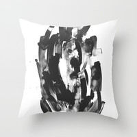 In my Sleep Throw Pillow by DuckyB