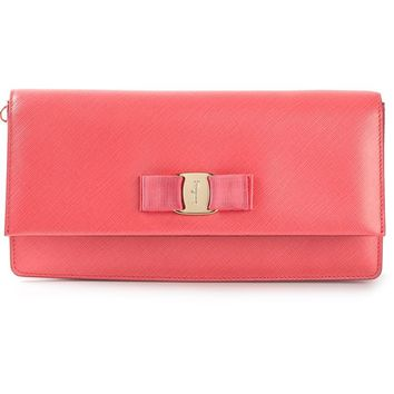 Salvatore Ferragamo Fold Over Clutch