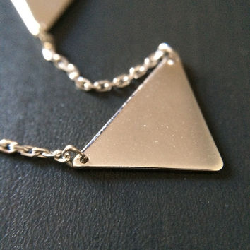 Triangle Connection Necklace