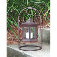 Starlite Garden & Patio Torche SLAS-CG2-PK Arch Tabletop Solar Lantern with Clear Glass, Set of Two