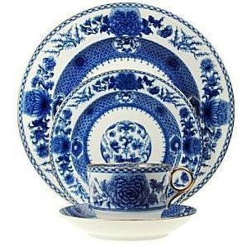 MOTTAHEDEH  Imperial Blue Dinnerware Collection
