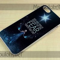 Frozen Quote - Samsung Galaxy S3 i9300, S4 i9500 and iPhone Case 4/4S, 5/5S, 5C