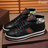 Gucci Man or Woman Fashion Sneakers Sport Shoes