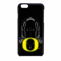 Oregon Ducks Design Black iPhone 6 Case