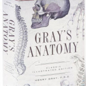 Gray's Anatomy: Classic Illustrated Edition by Henry Gray, Hardcover | Barnes & Noble®
