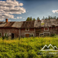 nature photography old house in lapponia finland north great gift picture lapland