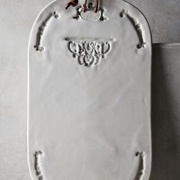 Nocturne Cheese Board by Anthropologie White Cheese Board House & Home