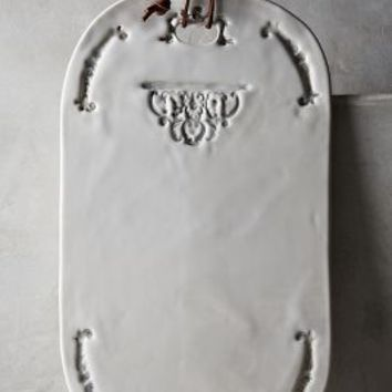 Nocturne Cheese Board by Anthropologie in White Size: Cheese Board House & Home