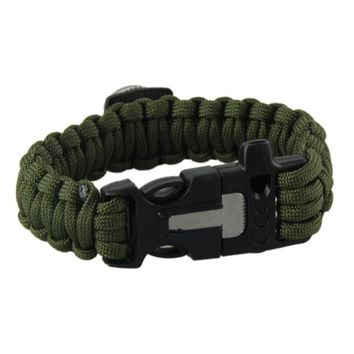 Outdoor Camping Bracelets For Men & Women Parachute Rope