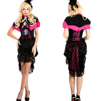 Cosplay Anime Cosplay Apparel Holloween Costume [9220291524]