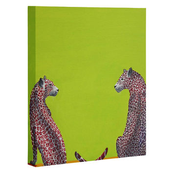 Clara Nilles Leopard Lovers Art Canvas