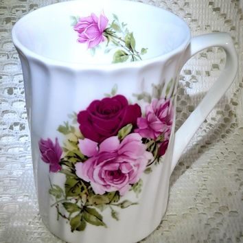 Rare Royal Patrician Summertime Rose Bone China Made in England - Only 2 Available!