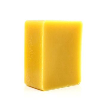 DCCKKFQ Hand Poured 100% Biological ORGANIC Natural Filtered Organic Pure Yellow/white Beeswax Candle Beeswax Block 2x2x1cm