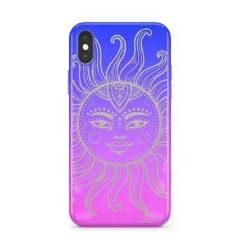 Gradient Chrome Shiny Sublime Sun iPhone Case Cover