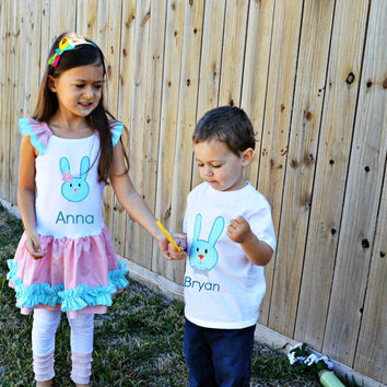 Brother and sister matching, Siblings matching, Easter outfit, Easter family matching, Easter Dress