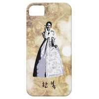 Korean traditional costume Hanbok - 한복 iPhone SE/5/5s Case