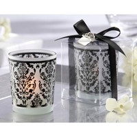 Kate Aspen Damask Tradition Candle (Set of 12)