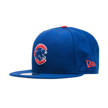 NEW ERA Chicago Cubs Chenille Snapback - Blue | Jimmy Jazz - 11500769H