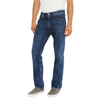 Straight on style. Featuring a slim straight cut, these men's Levi's jeans ...