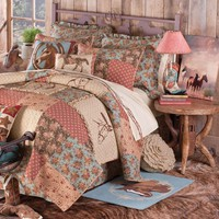 Whispering Creek Quilted Bedding Collection